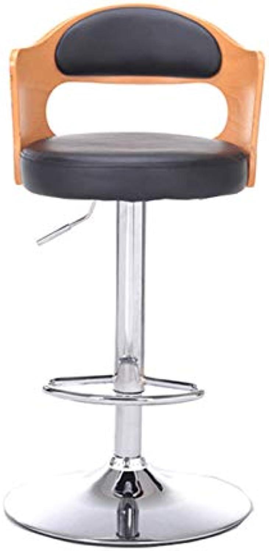 Barture Bar Stool, Wooden Bar Stool, Home Back Lift, High Stool, Bar Chair