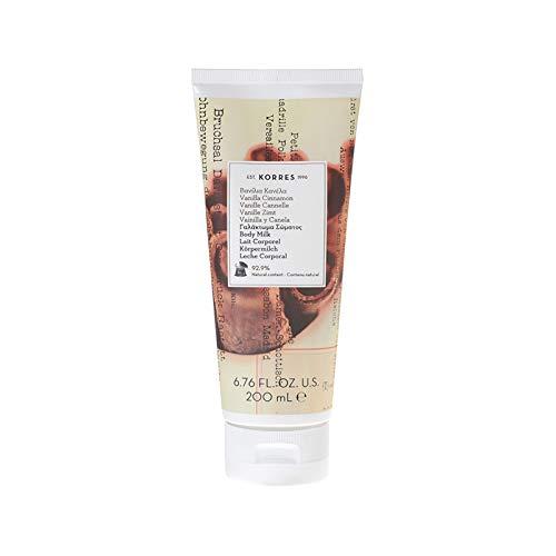 Korres: Vanilla Cinnamon Body Milk - Bodylotion mit Vanille und Zimt