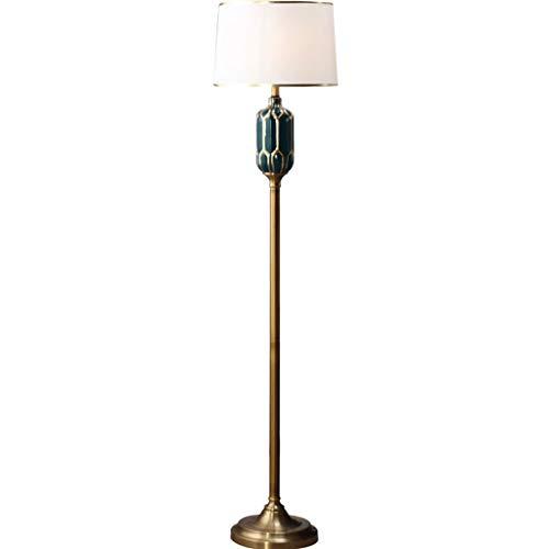 Lámpara de pie Lámpara De Pie, Lámpara De Pie Vertical, Lámpara De Pie De Cerámica, Interruptor De Pie, Tornillo E27, Living Sofa Sofa Bedroom Study