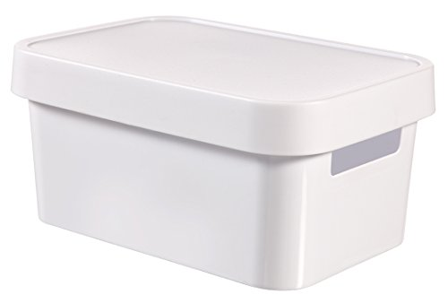 CURVER Behälter INFINITY 4,5L mit Deckel Infinity Behälter, Plastik, weiß, 27x19x12