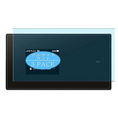 VacFun 3 Piezas Filtro Luz Azul Protector de Pantalla, compatible con Speed Wi-Fi 5G X01, Screen Protector Película Protectora(Not Cristal Templado)