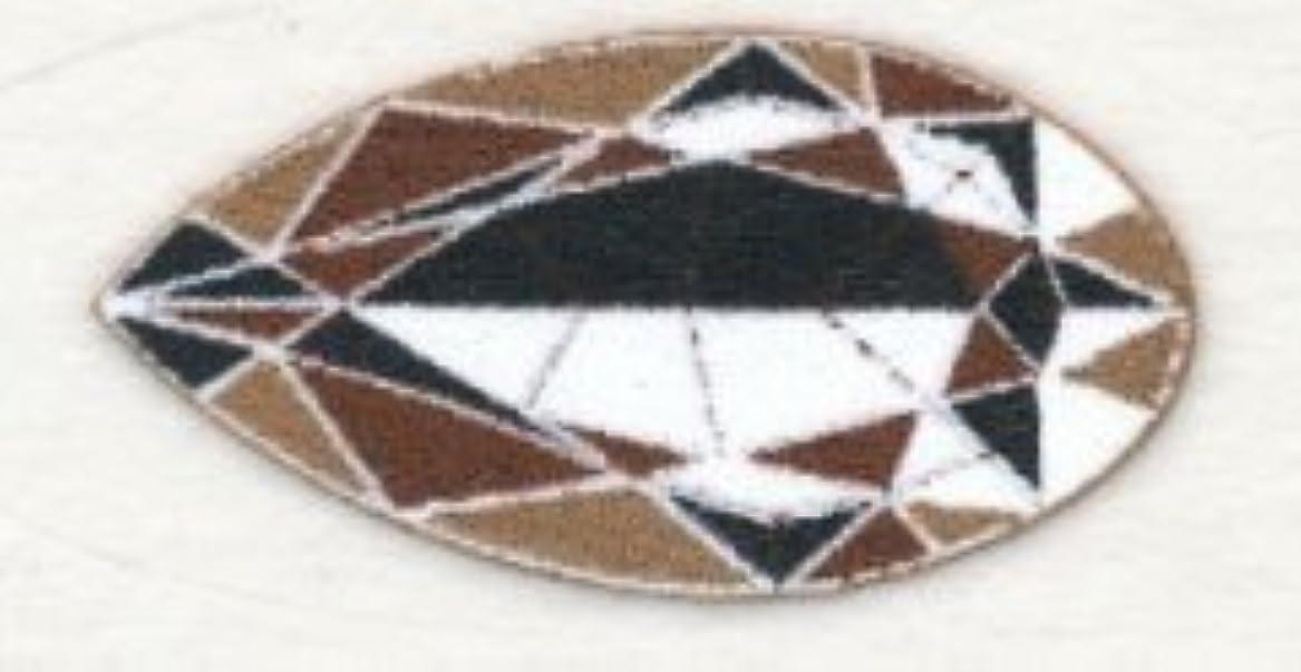 電気的唯一嫌い米国シネマシークレット社製 チョコレートダイヤモンド 貼るインスタントアイシャドウ(カラーオン) Chocolate Diamonds CO093