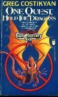 Mass Market Paperback One Quest, Hold the Dragons (Cups and Sorcery) Book