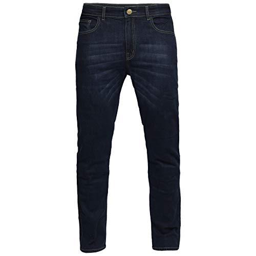 Great Bikers Gear – Pantalones vaqueros de ingeniería para hombre, con forro de aramida, forro de protección reforzado, protector de rodilla y cadera.