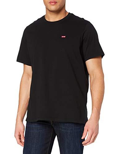 Levi's Herren Big Original Hm Tee T-Shirt, Mineral Black, 5X-Large
