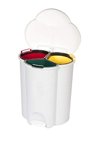 Rubbermaid Commercial Products Commercial Trio Pedal Bin