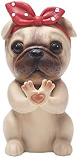 Chris.W Cute Puppy Dog Glasses Holder Stand Eyeglass Retainers Sunglasses Display Cute Animal Design Gift (Pag)