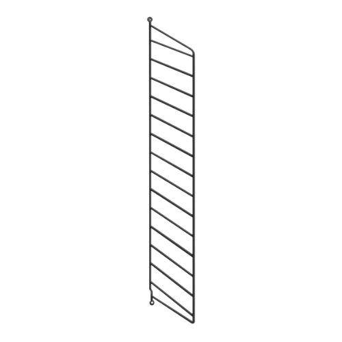 String System Wandleiter 75x20cm, schwarz Wandmontage 75x20cm