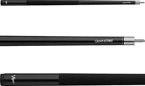 Viper by GLD Products 50-8115 Graphstrike Billardqueue, 147,3 cm, Fiberglas-Graphit-Verbundstoff, Schwarz