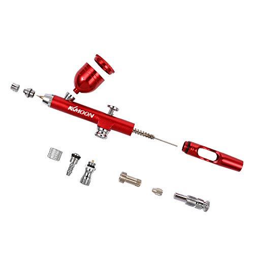 Zitainn Sauerstofflanze, Größe Spray Pump Pen Luftkompressor Set für Kunstmalerei Tattoo Craft Kuchenspray Modell Airbrush Kits
