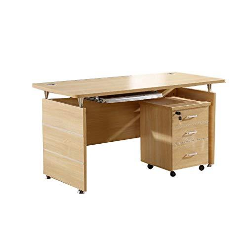 keduoduo Escritorio de Oficina Moderno Minimalista Mesa de Placa Empresa Empleado Desk Manager Desempeño Individual Detalles de la computadora,120 * 60 * 75CM
