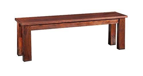MASSIVMOEBEL24.DE Koloniale Bank 160x36 Akazie Holz massiv Oxford #53