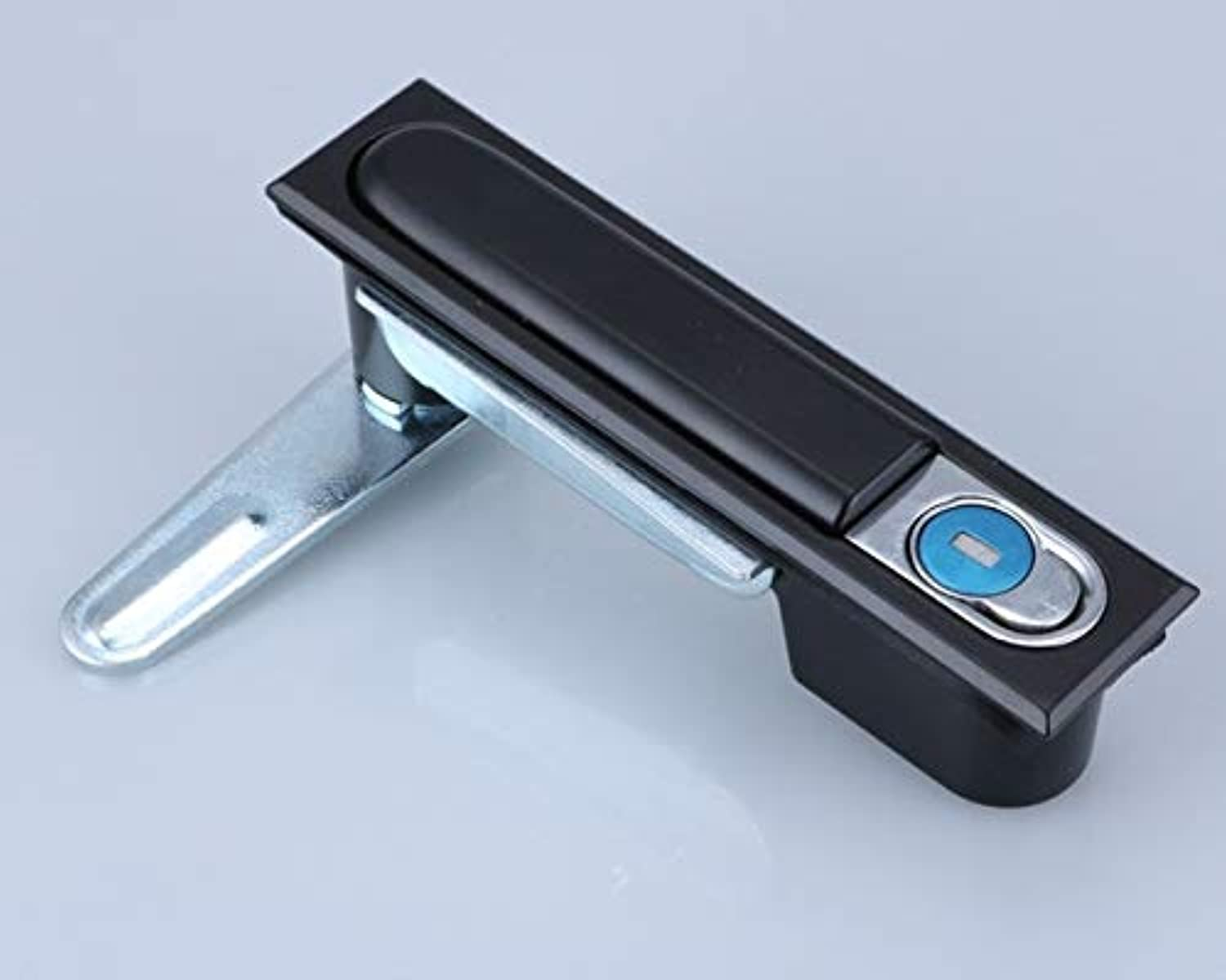 Surface Lock. Distribution Cabinet Cabinet Lock, Cabinet Lock, Mechanical Equipment Lock ms818  (color  Black)