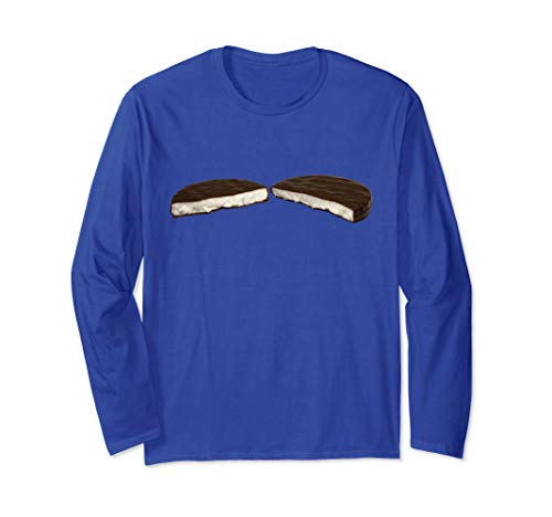 Schokolade Pfefferminz Bonbons Langarmshirt