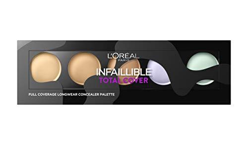 L'Oréal Paris Infaillible Total Cover Correttore Palette Copertura Totale a Lunga Durata per Pelli Chiare
