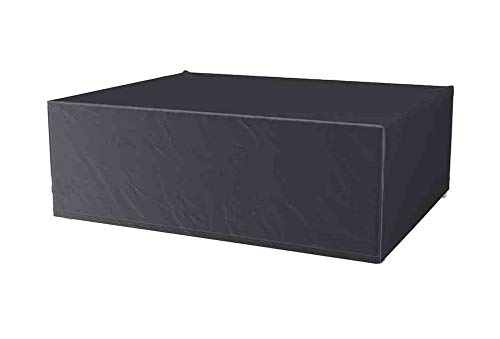 Breathable, Frost-Resistant and Waterproof AeroCover Protective Cover, Anthracite-coloured, For Lounge Furniture, In Practical Carrying Bag, 240 x 190 x 85 cm, 7916