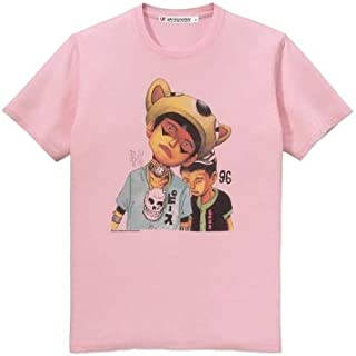 松本大洋×ユニクロ UT コラボ Tシャツ Sサイズ 桃 鉄コン筋