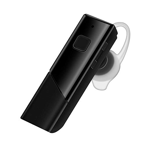 wheng Business Mini Long Standby - Auricular inalámbrico con Bluetooth (200 Horas de autonomía) Negro