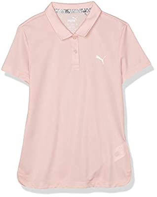 PUMA Golf 2019 Girl's Polo, Peachskin, Extra Large