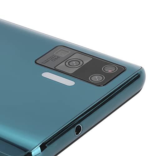 Liujaos Smart Phone, X66 Teléfonos móviles de 2 + 16GB Pantalla Ultra Grande Pro + Pantalla de 6.72in 3G GSM4 Resolución de 720x1560 Dual SIM para Android 8.1 para Viajes en...