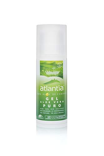 Atlantia Aloe Vera, Gel de Aloe Vera orgánico puro, sin aditivos ni conservantes, 200ml