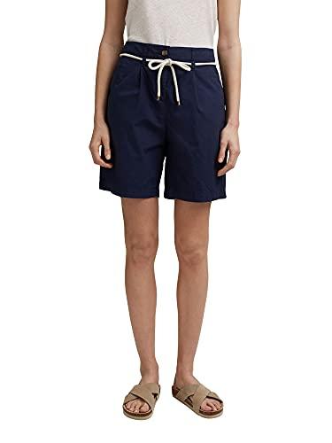 ESPRIT Damen 051EE1C302 Shorts, 400/NAVY, 44