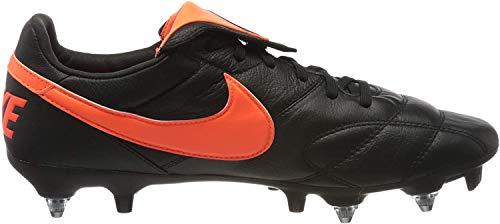 Nike Herren Men's Premier Ii Anti-Clog Traction (Sg-pro) Soft-Ground Football Boot Fußballschuhe, Mehrfarbig Black Hyper Crimson Black 80, 43 EU