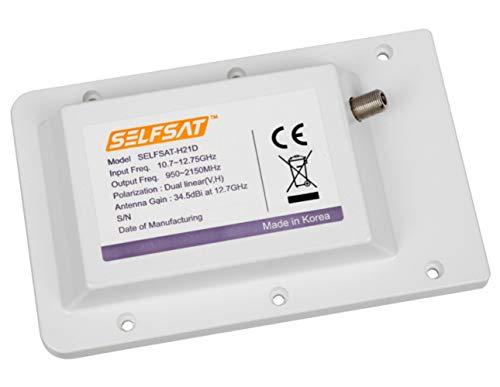 Selfsat LDU1 Single Ersatz LNB für H21 Serie weiß