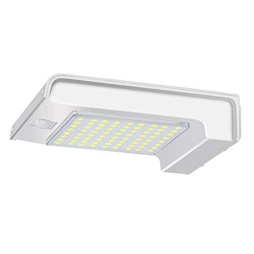 Luces SolaresLámpara De Seguridad De Jardín Al Aire Libre con Luz De Pared LED con Energía Solar 72Para Exterior