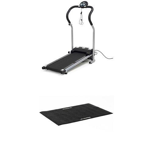 アルインコ プログラム電動ウォーカー5014 幅550×奥行1000×高さ1100mm ブラック 健康器具