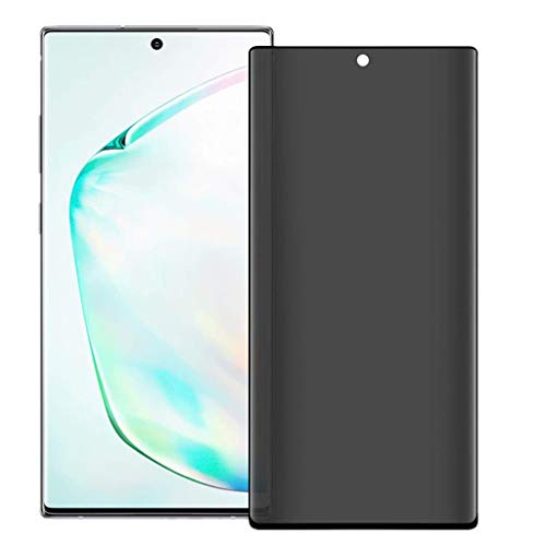 1/2/5PCS Panzerglas Privacy Screen Ersatz für Samsung Galaxy Note 20 Ultra 5G 6,9 Zoll Sichtschutzfolie Panzerglas, 9H Privacy Schutzfolie Anti-Spy Tempered Glass Privacy Screen Protector (2PCS)
