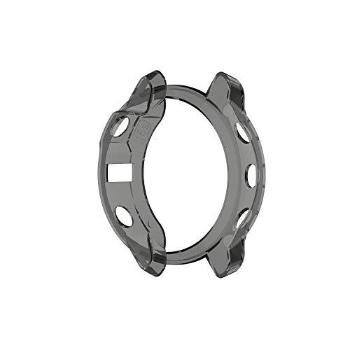 X-Best Hülle für Garmin Fenix 6S, TPU Zubehörersatz Schützende Silikonhülle für die stoßfeste und unzerbrechliche Schutzhülle für die Garmin Fenix 6S/6S pro