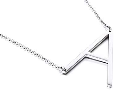 Yiyang Initial Necklace Large Birthd Letter Personalized Max 67% OFF Pendant Max 52% OFF