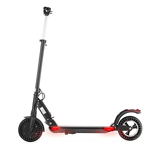 Patinete Eléctrico Adulto 350W Scooter Urbano Ultraligero con Neumáticos Sólidos de 8