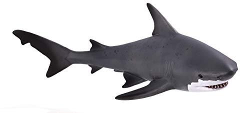 MOJO Bull Shark Realistic International Wildlife Hand Painted Toy Figurine