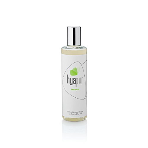 Hyapur® - Shampoing GREEN Soin du corps, pour cheveux brillants sans silicone, 250ml