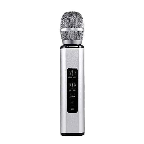 Karaoke draadloze microfoon, draadloos, karaoke, Bluetooth 4.1, draadloos microfoonsysteem, professionele handmicrofoon voor karaoke, kerk en zanger, van Kar Meetings