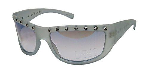 John Richmond 53303 For Ladies/Women Designer Full-Rim Shape Gradient Lenses Sunglasses/Sun Glasses (62-18-120, Bone/Blue)