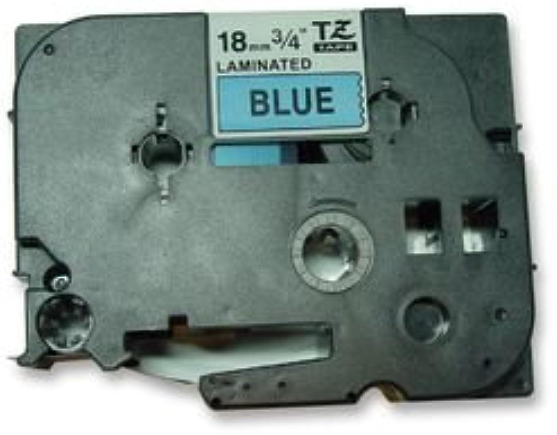 18MM schwarz ON Blau TAPE 8108 TZ-541 By BROTHER B01186PSBK  | Rich-pünktliche Lieferung