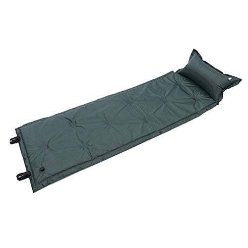 Picknickdecke Selbst Inflating Isomatte Isomatte Selbst Aufblasbare Isomatte Inflatable Schlafenauflage (Farbe : Army Green)