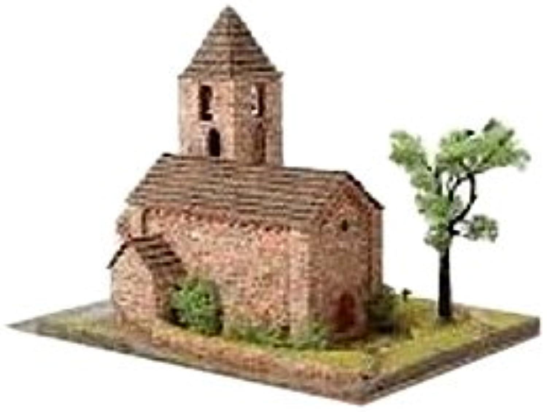 DOMUS Kits DOMUS kits40098Mastab 1  221cm romanica 21STA. Maria de Coll churche Modell (1529-piece)