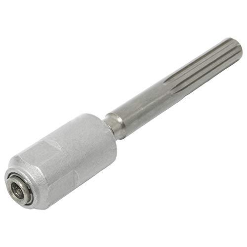 Adattatore per martello demolitore in acciaio al cromo vanadio SDS Max a SDS Plus, lunghezza 200 mm, codolo di serraggio rapido