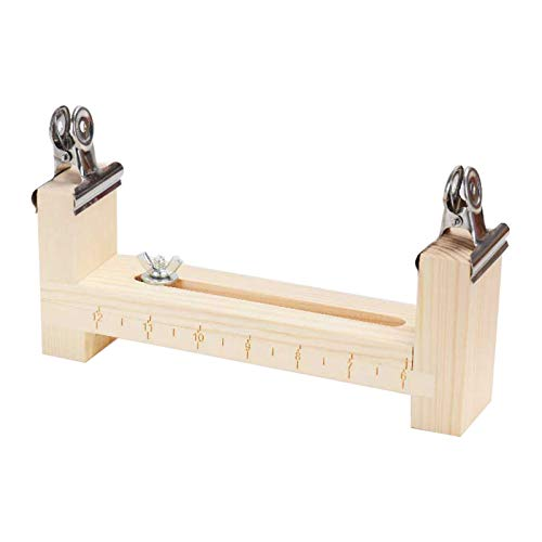 LQKYWNA Paracord Bracelet Jig Wooden Frame Wristband Maker Paracord Braiding Weaving DIY Craft Tool Kit Adjustable Length Paracord Jig Bracelet Maker