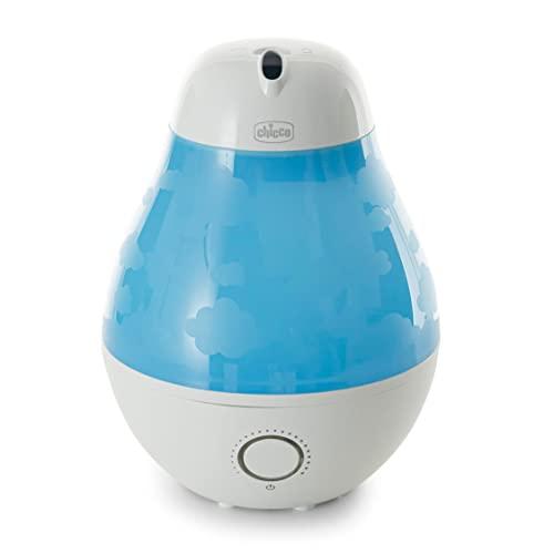 Chicco Humi Ambient - Humidificador de vapor tibio con contenedor de esencias y autonomía de 8 horas
