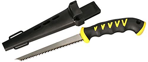 KOTARBAU® Sierra de calar de mano para placas de yeso, madera de poliestireno con cabestro