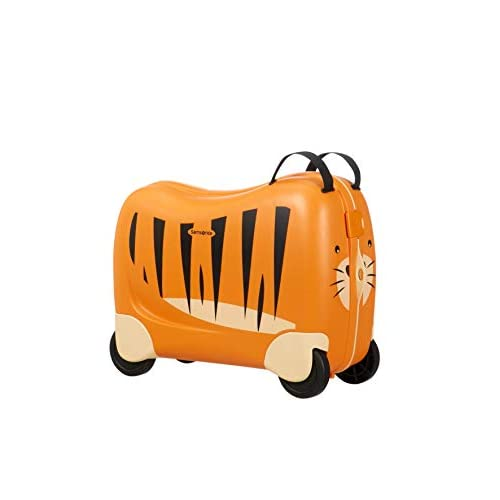 Samsonite Dream Rider Valigia per Bambini, 51 cm, 28 l, Arancione (Tiger Toby)