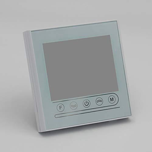 Termostato Inteligente WiFi Controlador de Temperatura de calefacción eléctrica para Caldera de Gas Alexa Google Home Thermoregulator (Blanco V72GC)