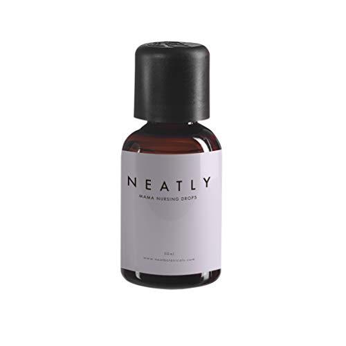 Stillen Öl von NEATLY I 30 ml Flasche mit Mandelöl & natürlichen ätherischen Ölen I Alternative zu Stilleinlagen, Kühlpads und Brustwarzensalbe I Öltropfen für Nippel