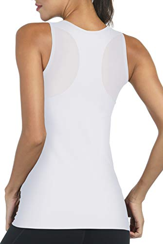 DISBEST Yoga Tank Top with Removable Pads