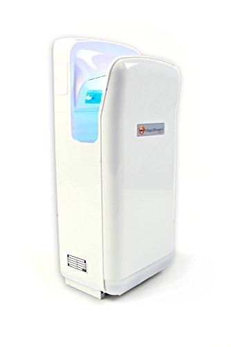 Magic Stream Handtrockner elektrischer Händetrockner mit HEPA Filter für trockene Hände in 5-7 Sekunden, 1.900 Watt, berührungslos mit Sensor